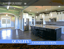 Tablet Preview of alderbrookhomes.biz